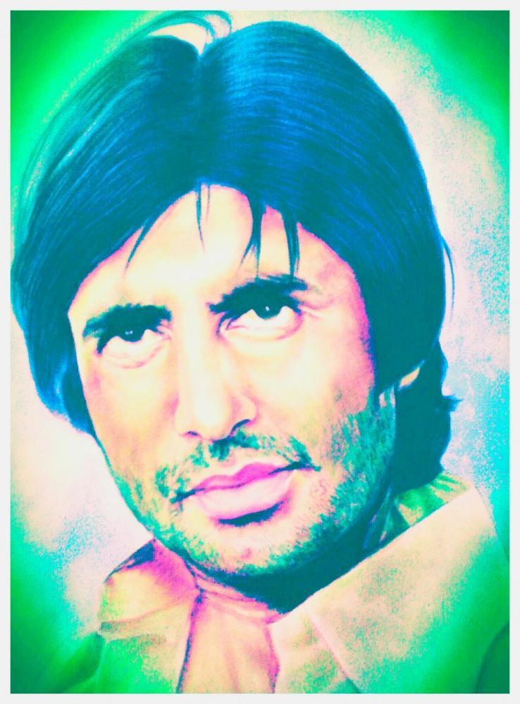 Amitabh Bachchan by ranju
